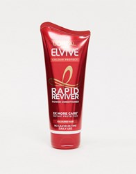 L'oreal Elvive Rapid Reviver Colour Protect Coloured Hair Power Conditioner 180Ml No Colour