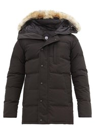Canada Goose Carson Quilted Down Parka Black