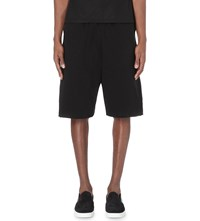 Blood Brother Drawstring Jersey Sweat Shorts Black