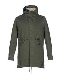 X Cape Jackets Military Green