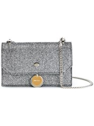 Jimmy Choo Finley Crossbody Bag Metallic