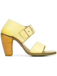 Ma Buckled Sandals Yellow Orange