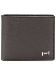 Tod's Double T Bifold Wallet Brown