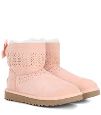 Ugg Dae Sunshine Suede Boots Pink