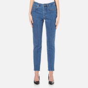 Gestuz Women's Cecily Jeans Medium Blue
