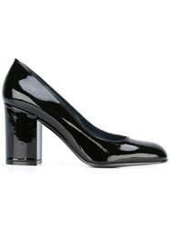 Pollini Block Heel Pumps Black
