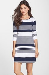 Women's Lilly Pulitzer 'Marlowe' Stripe Pima Cotton Shift Dress