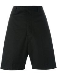 Rick Owens Classic Tailored Shorts Black