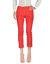 Re Hash Casual Pants Red