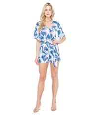 Lilly Pulitzer Madilyn Romper Indigo Star Struck Women's Jumpsuit And Rompers One Piece Blue