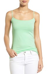 Women's Halogen 'Absolute' Camisole Green Ash
