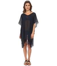 Seafolly Future Tribe Amnesia Kaftan Cover Up Indigo Women's Swimwear Blue