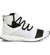 Adidas Y3 Kozoko High Top Mesh Trainers White Crystal White