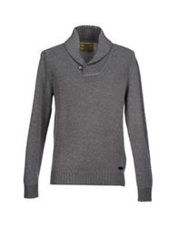 Guess Sweaters Grey