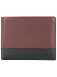 Cerruti 1881 Two Tone Foldover Wallet Brown