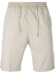 Folk Drawstring Shorts Nude And Neutrals