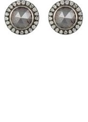 Zoe Circular Stud Earrings Colorless