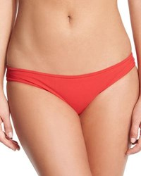 Karla Colletto Basic Hip Pant Swim Bottom Cherry
