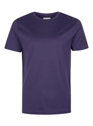 Topman Blue Premium Navy Slim Fit T Shirt