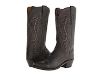 Lucchese Cassidy Anthracite Cowboy Boots Pewter