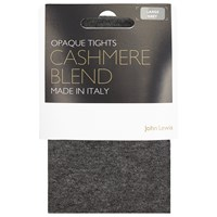 John Lewis Viscose And Cashmere Blend Opaque Tights Grey