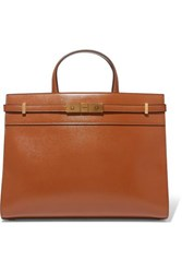 Saint Laurent Manhattan Small Leather Tote One Size