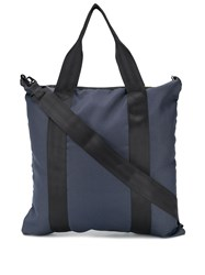 Bellerose Square Tote Bag Blue