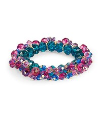 Catherine Stein Beaded Shake Stretch Bracelet Multi