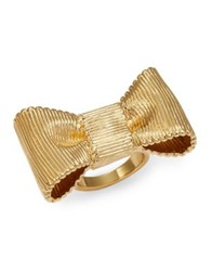Kate Spade All Wrapped Up Bow Ring Gold