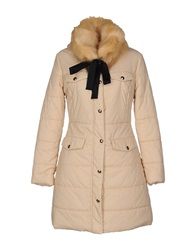 Betty Blue Down Jackets Beige