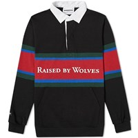 Raised By Wolves X Barbarian Rugby Top Black