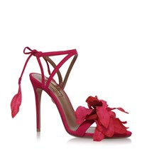 Aquazzura Flora Sandals 105 Female Fuchsia