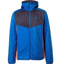 Salomon Alomon Drifter Reverible Quilted Riptop And Jerey Ki Jacket Blue