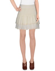 Atelier Fixdesign Skirts Mini Skirts Women Grey