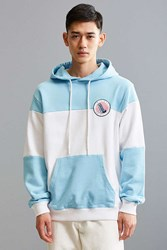 Lazy Oaf All Out Hoodie Sweatshirt Sky
