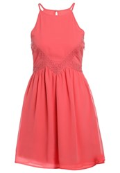 Evenandodd Summer Dress Coral