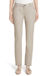 Lafayette 148 New York Women's Curvy Fit Slim Leg Jeans