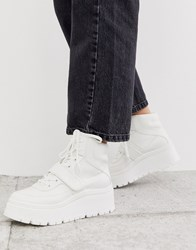 Call It Spring By Aldo Rollerbabes Platform Chunky Sneakers In White