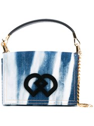 Dsquared2 Dd Small Bag Women Cotton Calf Leather One Size Blue