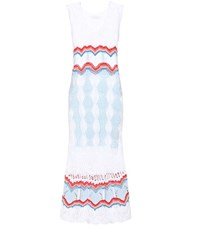 Peter Pilotto Knitted Cotton Blend Dress Multicoloured