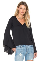 Amanda Uprichard Laura Top Black