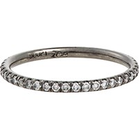 Zoe Women's White Diamond Eternity Band No Color