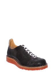Vivienne Westwood Smooth Leather Bowling Style Shoes