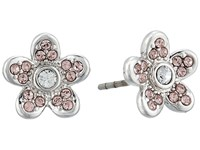 Marc Jacobs Mj Coin Flower Stud Earrings Silver Earring