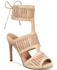 Call It Spring Forcey Strappy Sandals Women's Shoes Nude