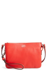 Vince Camuto 'Cami' Leather Crossbody Bag Red Flame