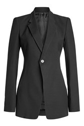 Rick Owens Tailored Blazer With Wool