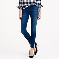 J.Crew Tall Toothpick Cone Denim Jean In Kelly Wash