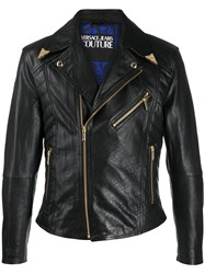Versace Jeans Couture Fitted Biker Jacket 60