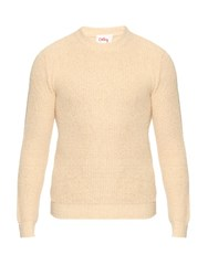 Orley Ribbed Knit Silk Sweater Cream